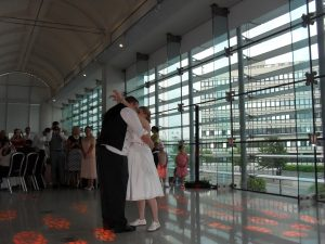 Dance Sounds Disco Wedding DJ at Millennium Gallery Sheffield