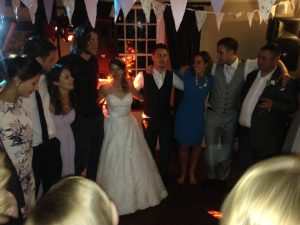 Wedding DJ at Whitley Hall Sheffield Dance Sounds Disco